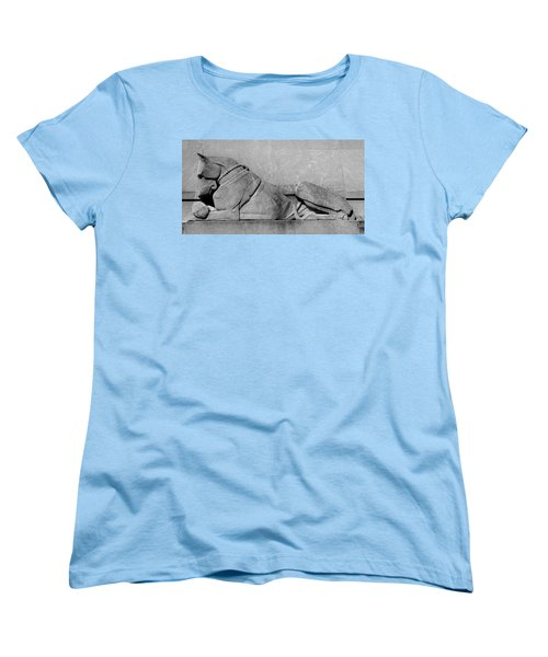 Art Deco Great Dane Women's T-Shirt (Standard Cut) by Richard Ortolano