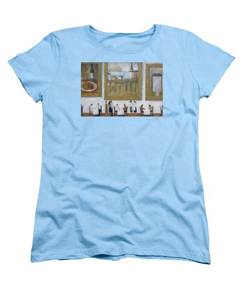 Women's T-Shirt (Standard Cut) featuring the painting Art Is Long, Life Is Short by Glenn Quist