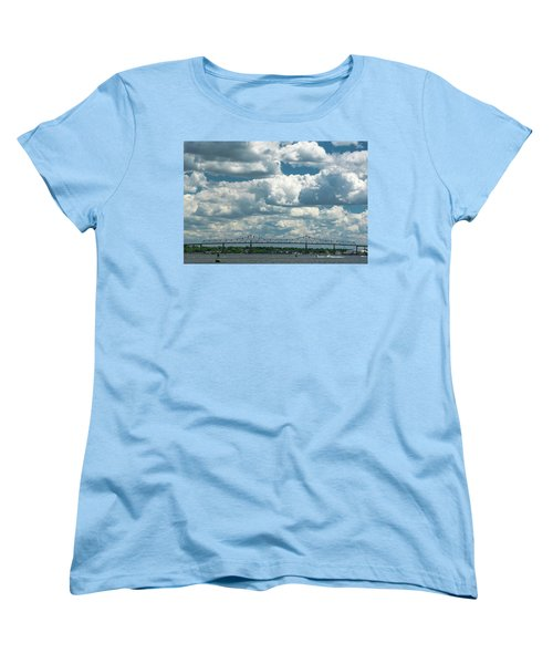Arthur Kill And Outerbridge Crossing Women's T-Shirt (Standard Cut)