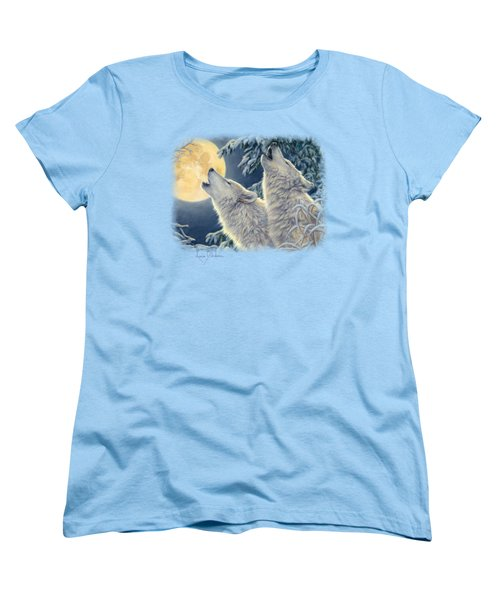 Moonlight Women's T-Shirt (Standard Cut) by Lucie Bilodeau