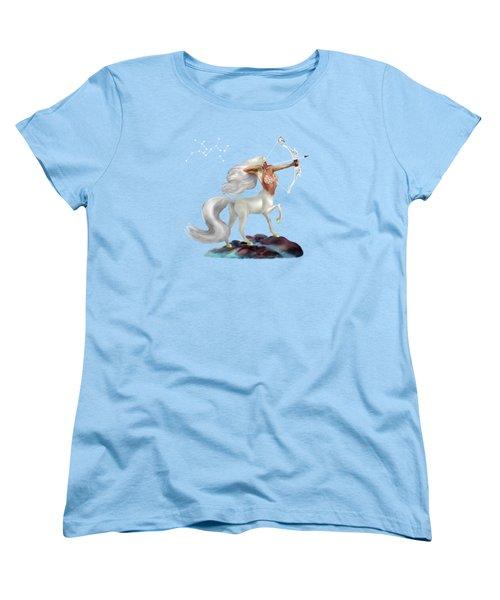 Mystical Sagittarius Women's T-Shirt (Standard Cut) by Glenn Holbrook