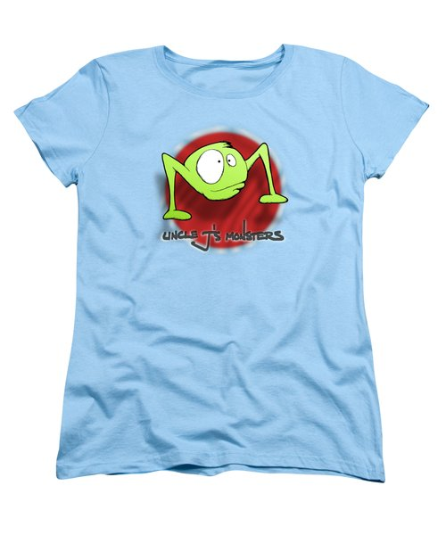 Ramble Women's T-Shirt (Standard Cut) by Uncle J's Monsters