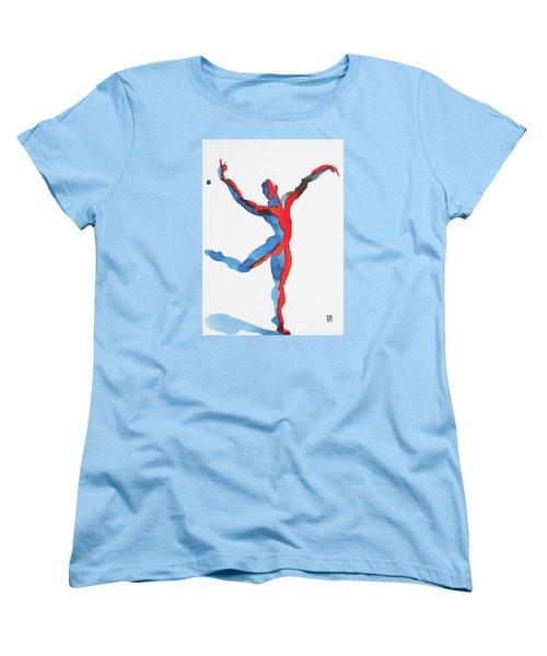 Ballet Dancer 3 Gesturing Women's T-Shirt (Standard Cut) by Shungaboy X