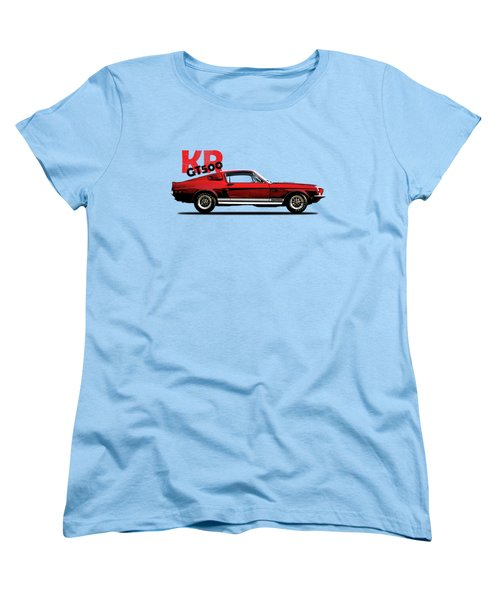 Shelby Mustang Gt500 Kr 1968 Women's T-Shirt (Standard Cut) by Mark Rogan