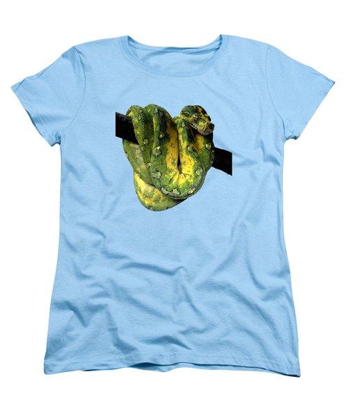 Green Tree Python 2 Women's T-Shirt (Standard Cut)