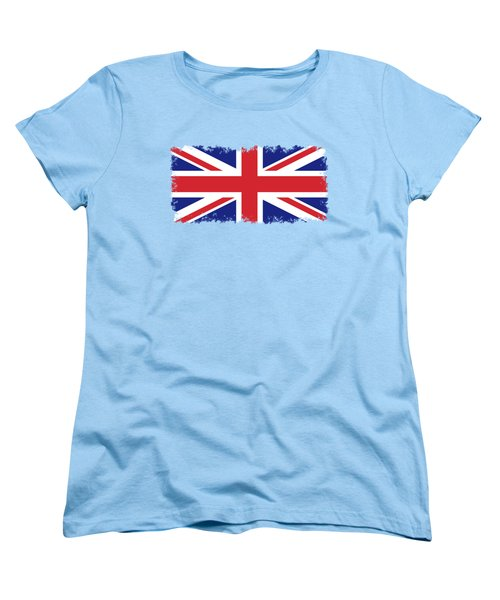 Union Jack Ensign Flag 1x2 Scale Women's T-Shirt (Standard Cut) by Bruce Stanfield