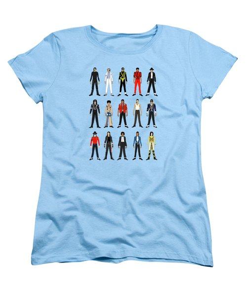 Outfits Of Michael Jackson Women's T-Shirt (Standard Cut) by Notsniw Art