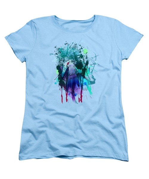 Victoria Crowned Pigeon Women's T-Shirt (Standard Cut) by Clinton Caleb