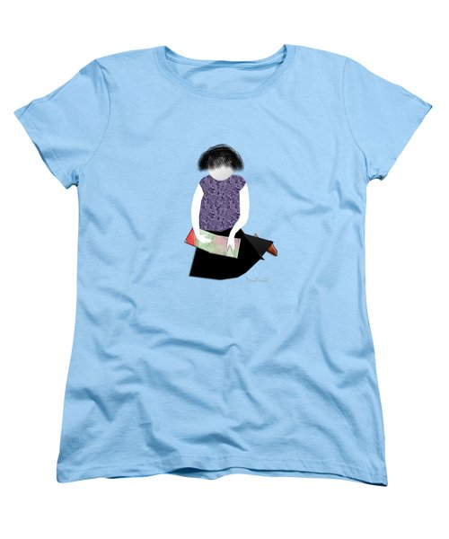 Her Picture Book Women's T-Shirt (Standard Cut) by Asok Mukhopadhyay