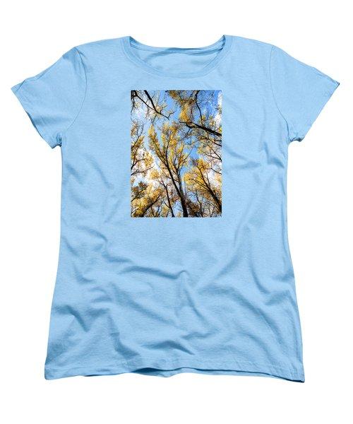 Looking Up Women's T-Shirt (Standard Cut) by Bill Kesler