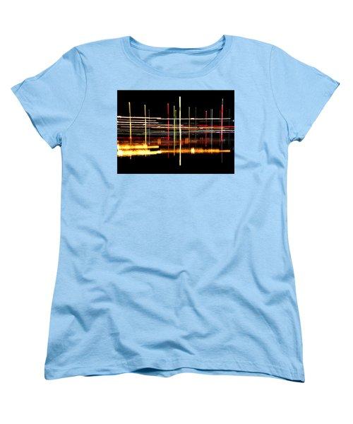 Cosmic Avenues Women's T-Shirt (Standard Cut) by Bill Kesler