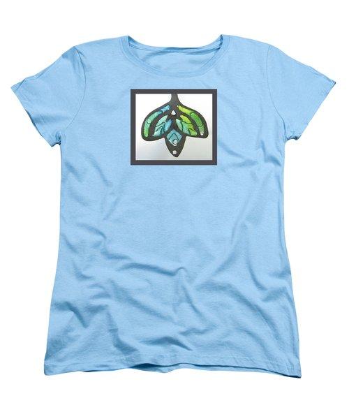 1188 A La Tiffany Women's T-Shirt (Standard Cut) by Dianne Brooks
