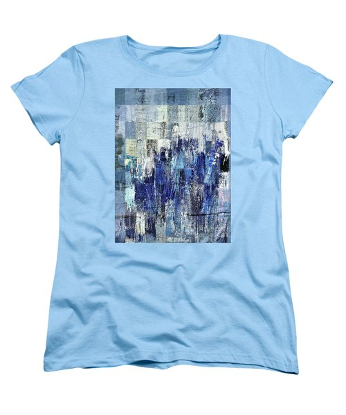 Women's T-Shirt (Standard Cut) featuring the digital art Ascension - C03xt-160at2c by Variance Collections
