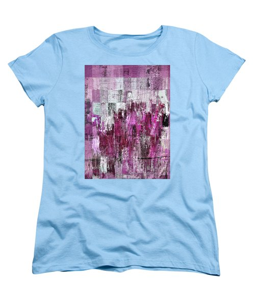Women's T-Shirt (Standard Cut) featuring the digital art Ascension - C03xt-165at2c by Variance Collections