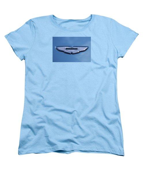 Aston Martin Women's T-Shirt (Standard Cut) by Scott Carruthers