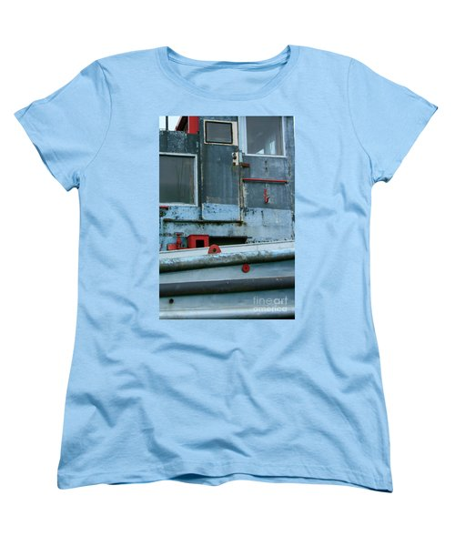 Astoria Ship Women's T-Shirt (Standard Cut) by Suzanne Lorenz