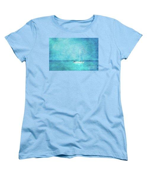 At Anchor Women's T-Shirt (Standard Cut) by Betty LaRue