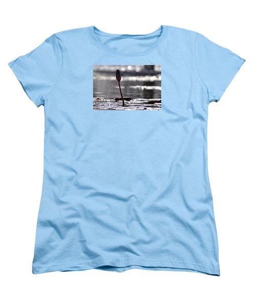 Women's T-Shirt (Standard Cut) featuring the photograph At Rabin Square, Tel Aviv by Dubi Roman