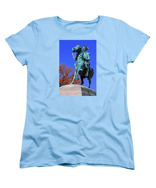 At The Battle Of Princeton Women's T-Shirt (Standard Cut) by Iryna Goodall