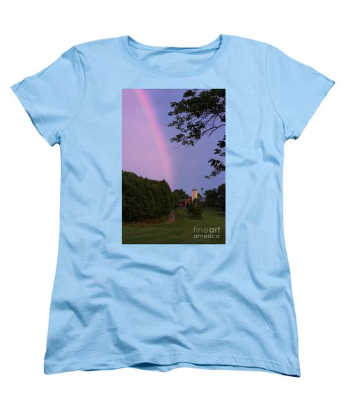 At The End Of The Rainbow Women's T-Shirt (Standard Cut) by Nicki McManus