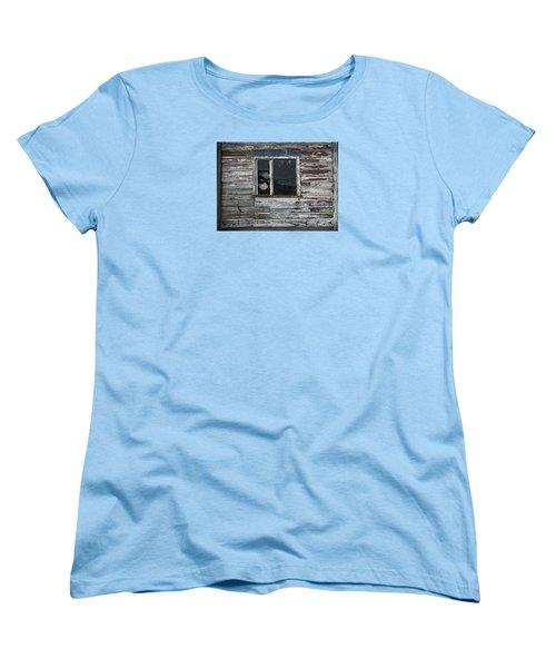 At The Window Women's T-Shirt (Standard Cut) by Nareeta Martin