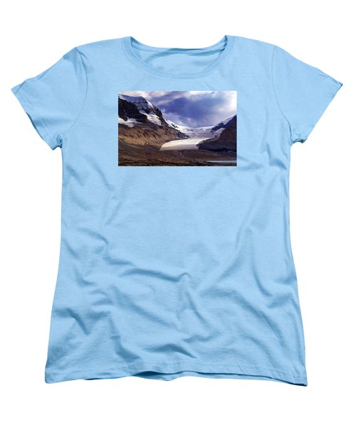 Athabasca Glacier Women's T-Shirt (Standard Cut) by Heather Vopni