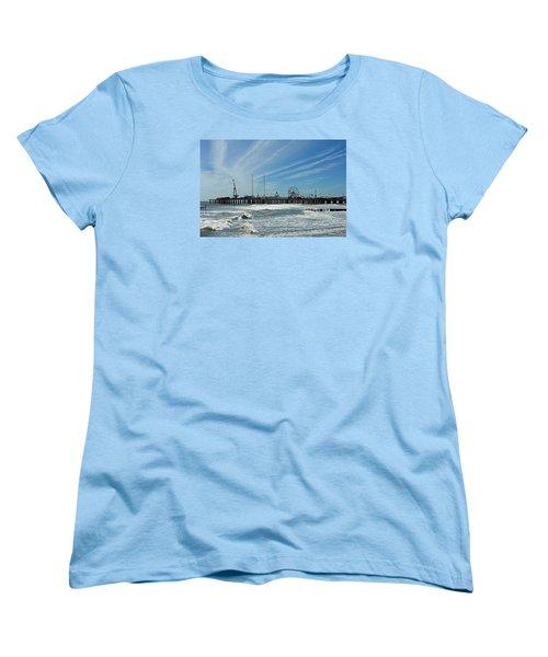 Atlantic City, New Jersey Women's T-Shirt (Standard Cut) by Allen Beilschmidt