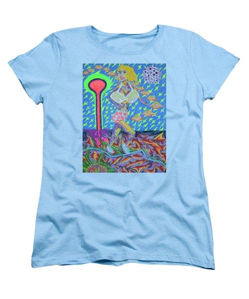 Attaque Des Bombes Sexuelles Women's T-Shirt (Standard Cut) by Robert SORENSEN