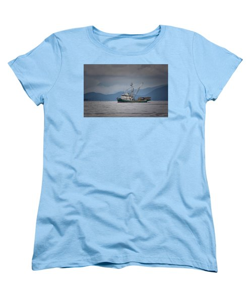 Attu Off Madrona Women's T-Shirt (Standard Cut) by Randy Hall
