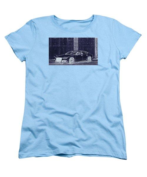 Audi Rs7 Vossen  Women's T-Shirt (Standard Cut) by PixBreak Art