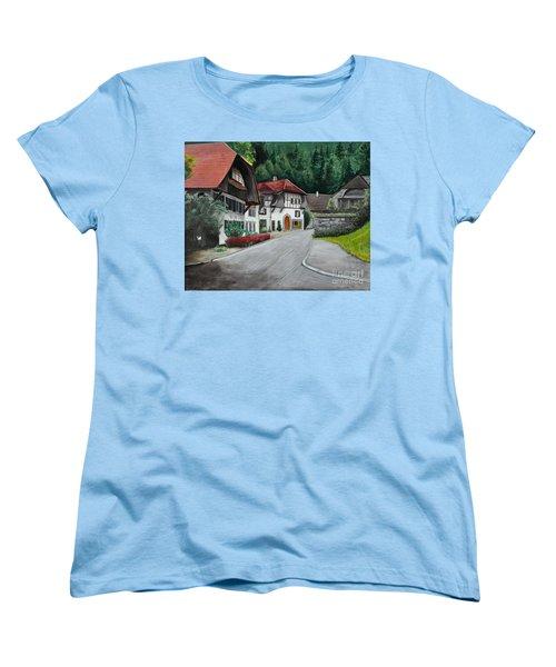Austrian Village Women's T-Shirt (Standard Cut)