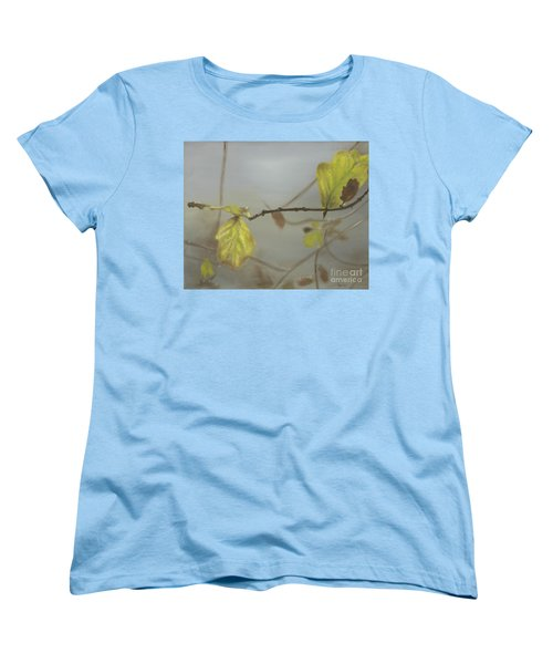 Women's T-Shirt (Standard Cut) featuring the painting Autumn by Annemeet Hasidi- van der Leij