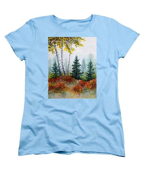 Autumn Birch Women's T-Shirt (Standard Cut)