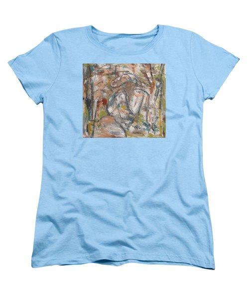Autumn Breeze Women's T-Shirt (Standard Cut) by Trish Toro