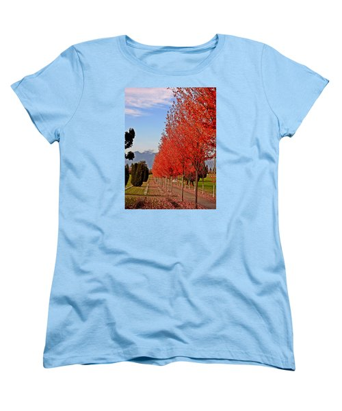Autumn Delight, Vancouver Women's T-Shirt (Standard Cut) by Brian Chase