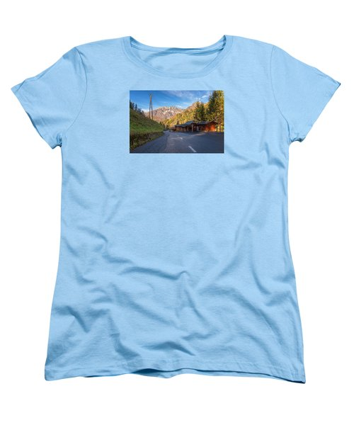 Autumn In Slovenia Women's T-Shirt (Standard Cut) by Robert Krajnc