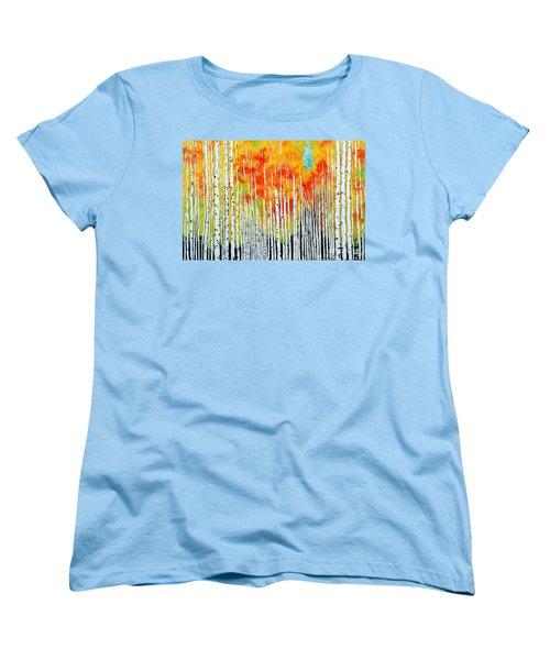 Autumn Women's T-Shirt (Standard Cut) by Jackie Carpenter