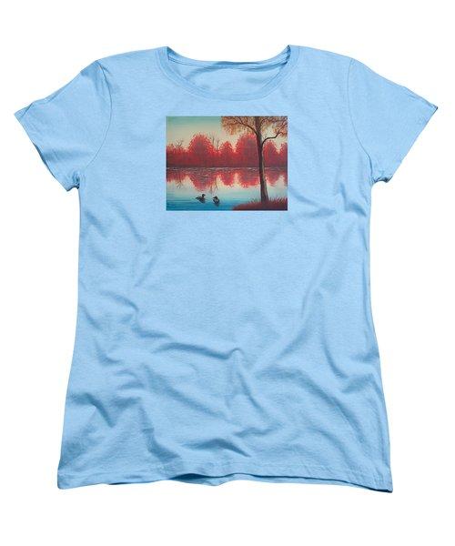 Autumn Loons Women's T-Shirt (Standard Cut) by Brenda Bonfield
