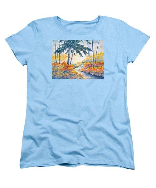 Autumn Mist Women's T-Shirt (Standard Cut)
