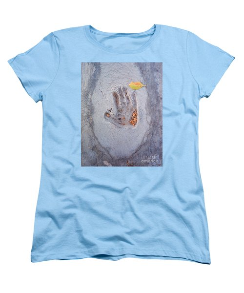 Autumns Child Or Hand In Concrete Women's T-Shirt (Standard Cut) by Heather Kirk
