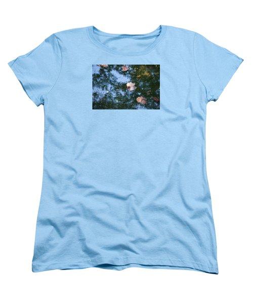 Autumn's Here Women's T-Shirt (Standard Cut) by Allen Carroll