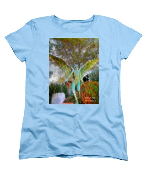 Awaken Women's T-Shirt (Standard Cut) by Gina Savage