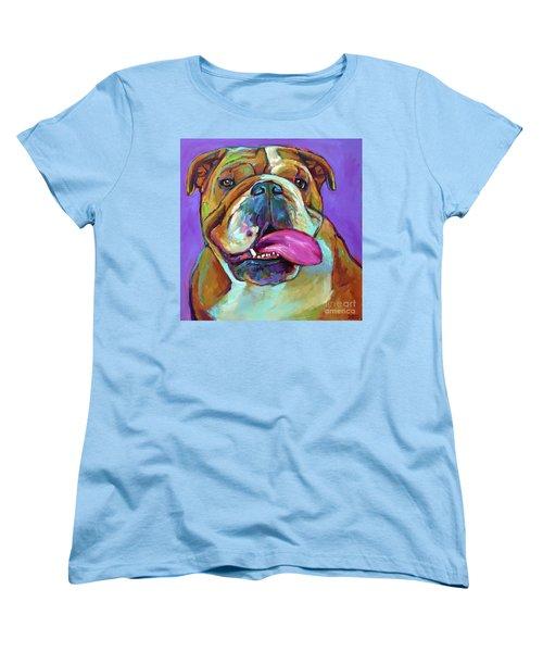 Women's T-Shirt (Standard Cut) featuring the painting Axl by Robert Phelps