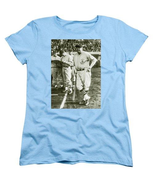 Babe Ruth All Stars Women's T-Shirt (Standard Cut) by Jon Neidert