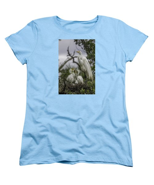 Babies In The Nest Women's T-Shirt (Standard Cut) by Dorothy Cunningham