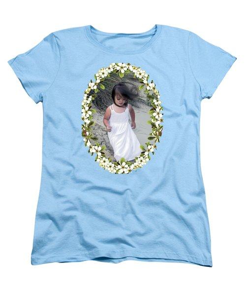 Baby Girl Women's T-Shirt (Standard Cut) by Brian Wallace
