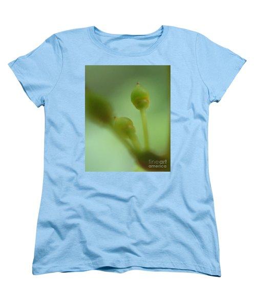 Baby Grapes Women's T-Shirt (Standard Cut) by Christina Verdgeline