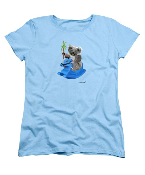 Baby Koala Buckaroo Women's T-Shirt (Standard Cut) by Glenn Holbrook