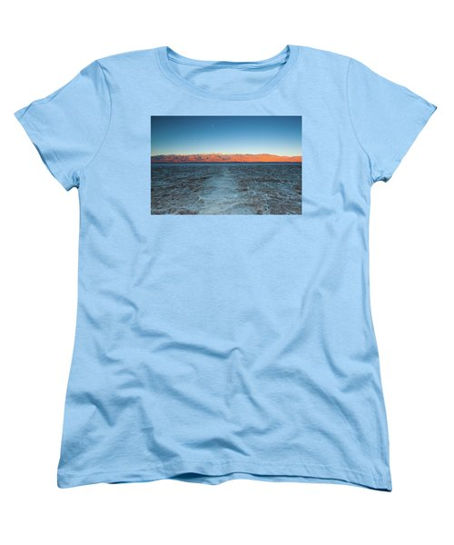 Badwater  Women's T-Shirt (Standard Cut) by Catherine Lau