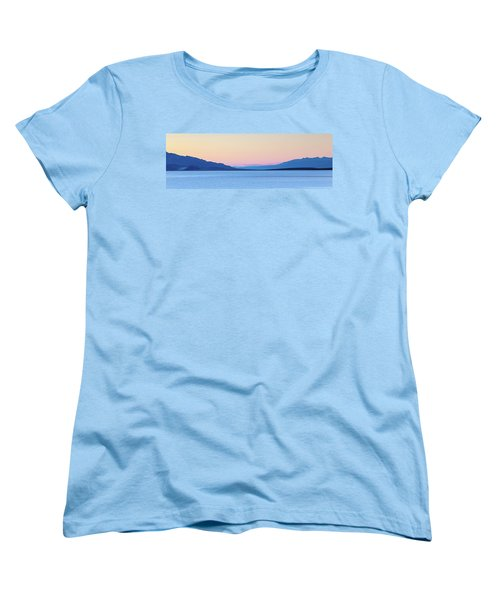 Women's T-Shirt (Standard Cut) featuring the photograph Badwater - Death Valley by Peter Tellone